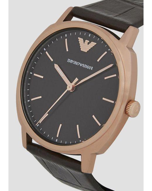 5055148da ... Emporio Armani - Black Watch for Men - Lyst ...