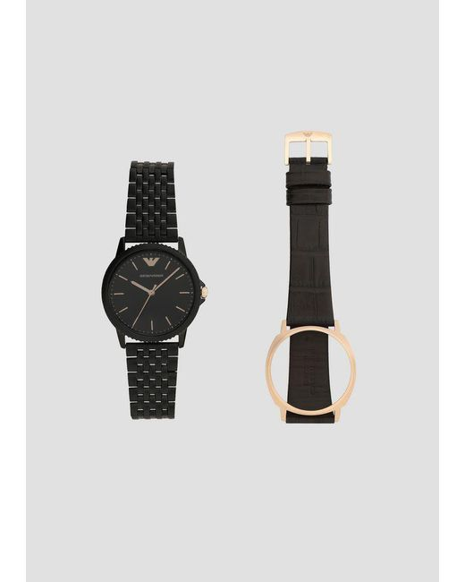 fc9f67944 Emporio Armani - Black Watch for Men - Lyst ...