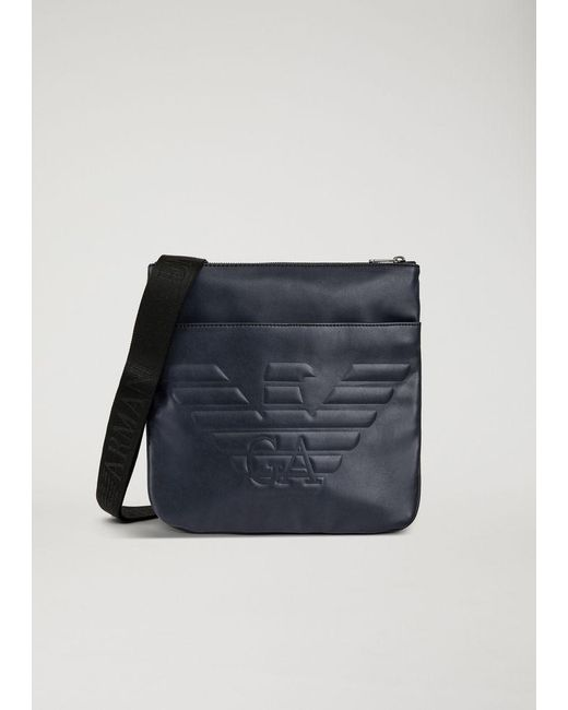 19f001e7e413 Lyst - Emporio Armani Crossbody Bag in Blue for Men - Save 13%