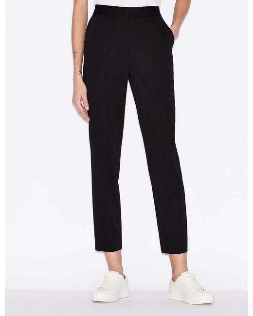 Pantaloni classici di Armani Exchange in Black