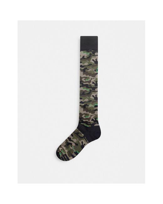Synth - Chaussettes à imprimé camouflage Volcom pour homme en coloris Green
