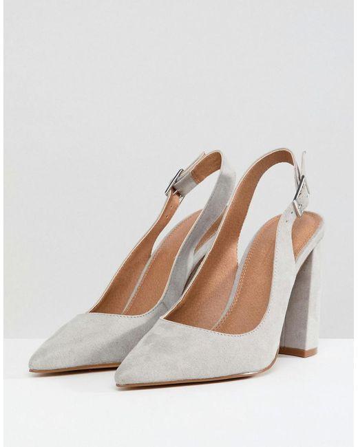 Penley Slingback High Heels
