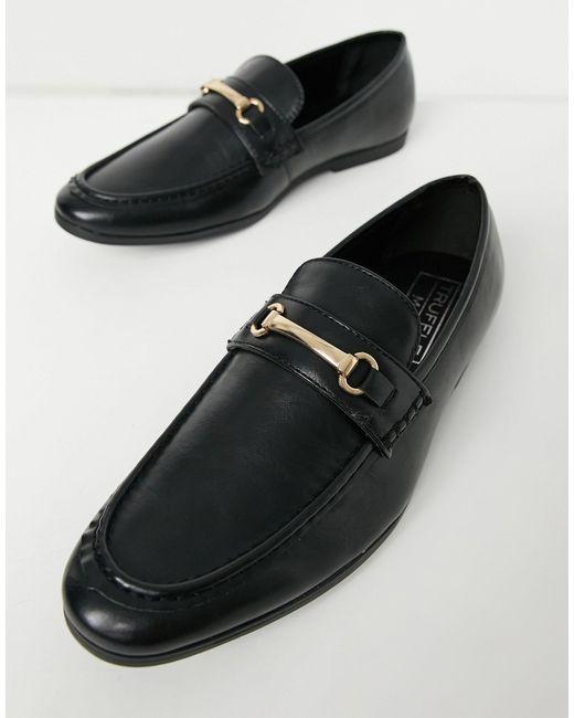 Черные Лоферы С Отделкой Трензелем -черный Цвет Truffle Collection для него, цвет: Black