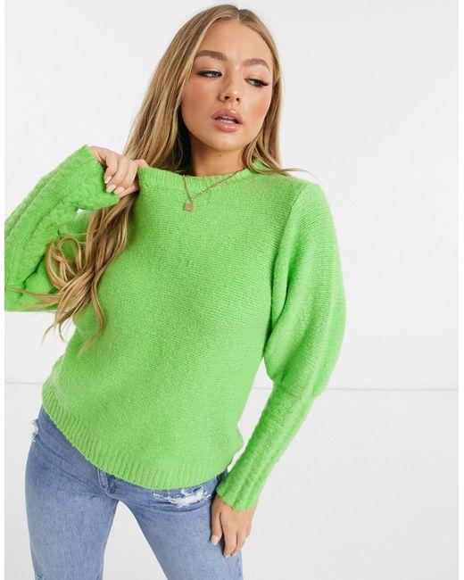 Зеленый Джемпер Never Fully Dressed, цвет: Green