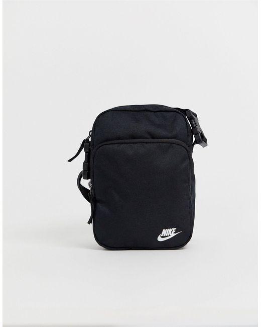 Черная Сумка Через Плечо -черный Цвет Nike, цвет: Multicolor