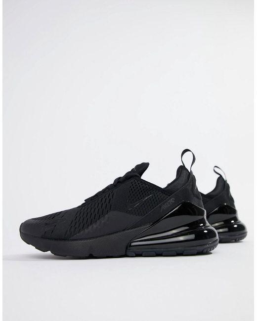 Nike Air Max 270 Trainers AH8050 002 | Black