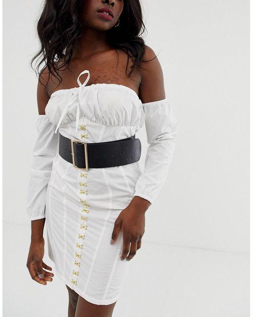 ASOS Black Wide Waist Belt