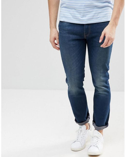 Levi's - Black Levi's 511 Slim Fit Jeans Roth for Men ...