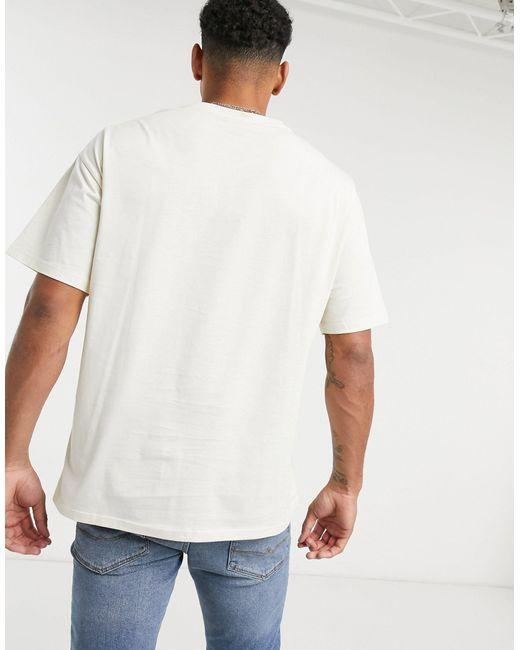 New Look – T-Shirt mit Print auf der Brust, in Multicolor für Herren