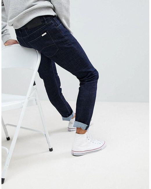 86e910f0 Men's Blue J13 Slim Fit Dark Wash Stretch Jeans
