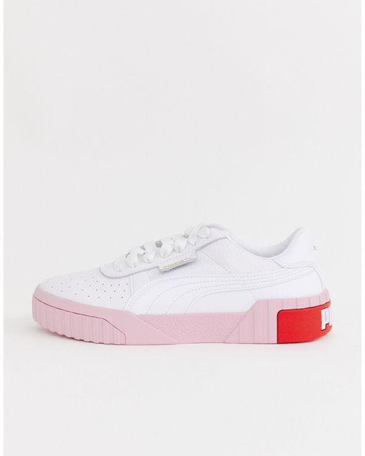 PUMA White – Cali – Sneaker