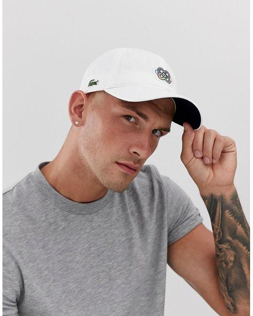 Casquette de baseball - Blanc Lacoste pour homme en coloris White