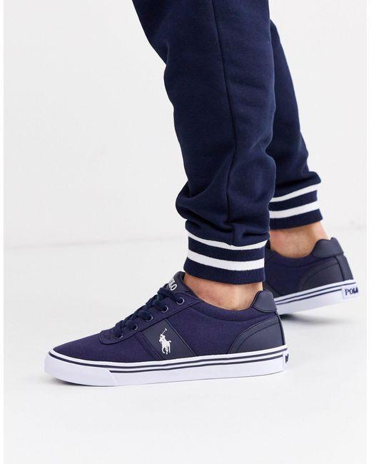 Polo Ralph Lauren Zapatillas de hombre de color azul