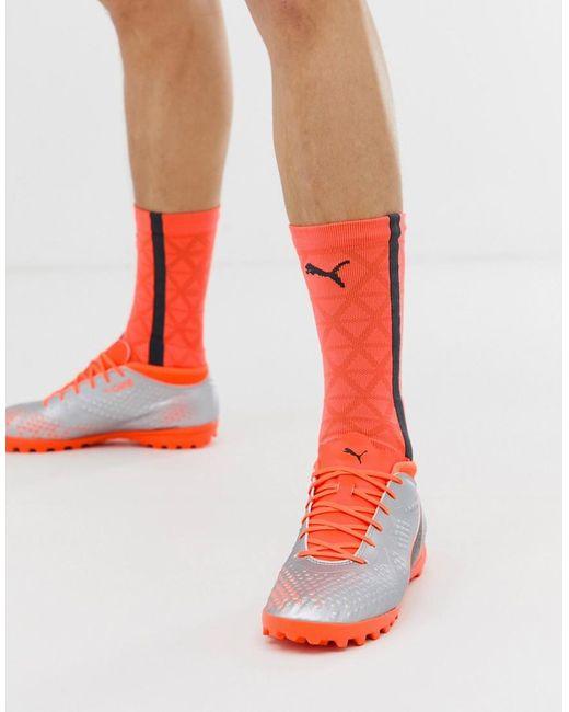 PUMA Metallic Football One 4 Astro Turf Boots for men