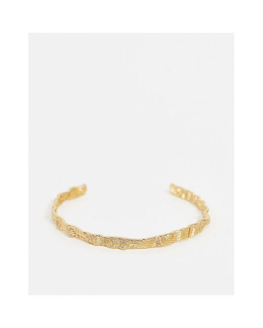 Браслет С Кованным Эффектом -золотой Vero Moda, цвет: Metallic