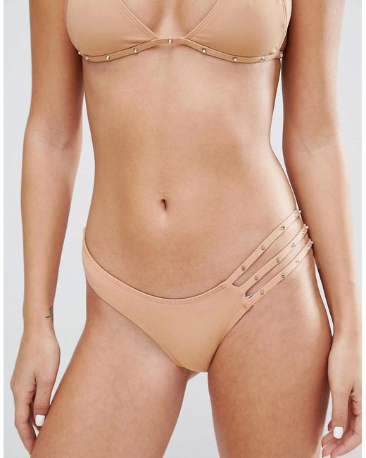 Minimale Animale | Natural Studded Bikini Bottom | Lyst
