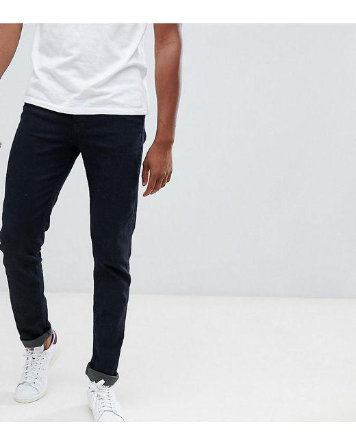 Loyalty & Faith Loyalty And Faith Tall Beattie Skinny Fit Jean In Black for men