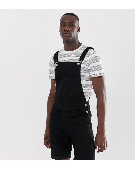 Salopette short - Noir ASOS pour homme en coloris Black