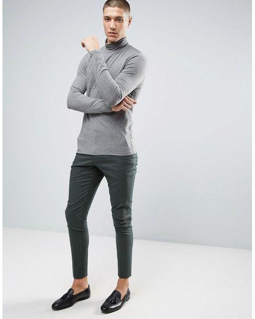 Selected Super Skinny Suit Pants in Green for Men   Lyst