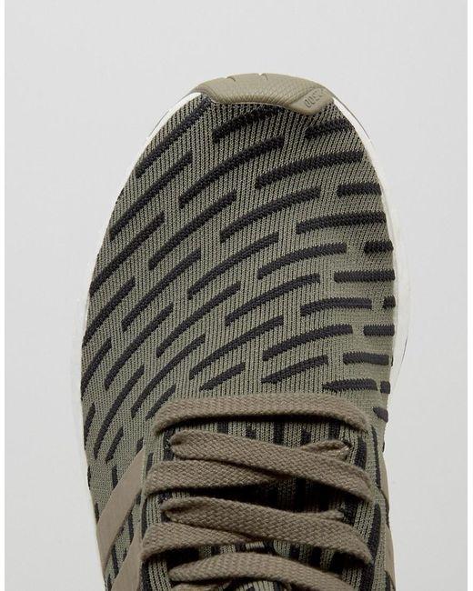 adidas Originals NMD R2 Men's Running Shoes Grey/Grey