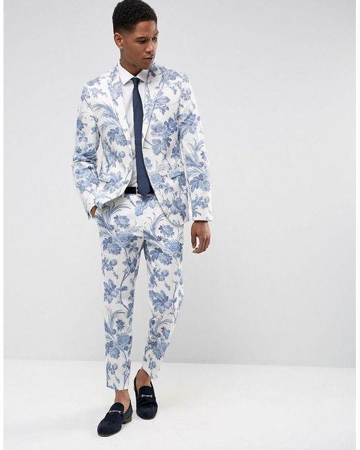 エイソス スーツ・ジャケット ASOS Skinny Suit Jacket In Black and White Vertical Stitch Black 売上実績No.1,マックスマーラ レディース トップス ブラウス・シャツ【Adelmo polka-dot silk blouse】White).