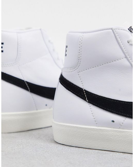 Nike Blazer Mid - Jaren 77 Sneakers in het White