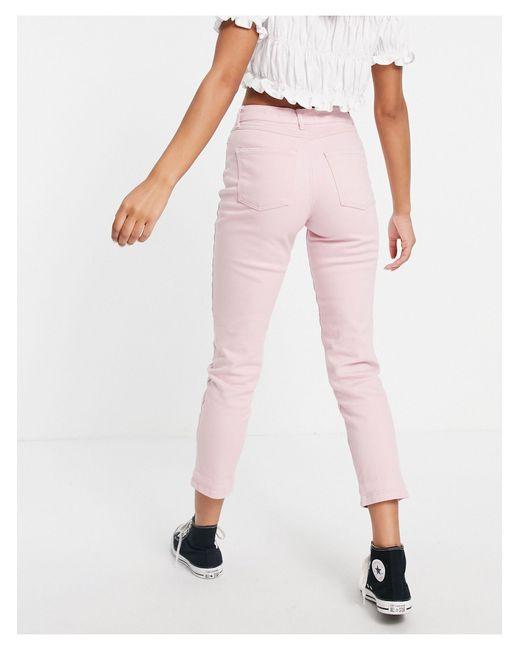 Джинсы Пастельно-розового Цвета В Винтажном Стиле -розовый Цвет New Look, цвет: Pink