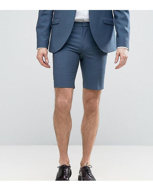 Heart & Dagger - Blue Smart Summer Wedding Shorts for Men - Lyst