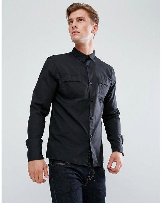 Bellfield | Black Utility Shirt for Men | Lyst