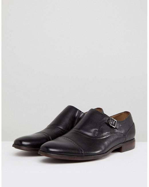 Aldo Ales Brogue Monk Shoes In