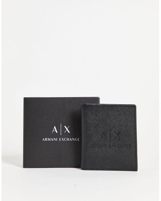 AX - Portacarte di Armani Exchange in Black da Uomo