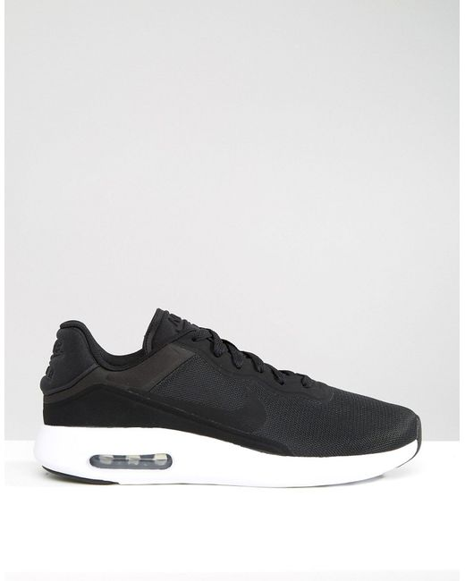 nike air max modern essential trainers in black 844874 001. Black Bedroom Furniture Sets. Home Design Ideas
