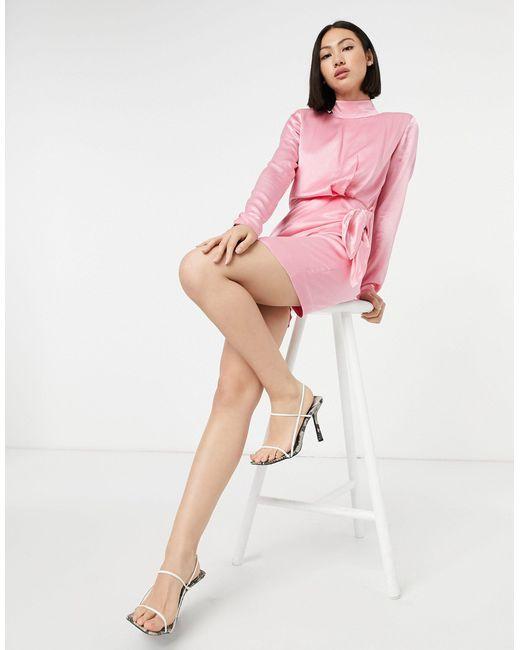 Розовое Платье Мини С Завязкой -розовый & Other Stories, цвет: Pink