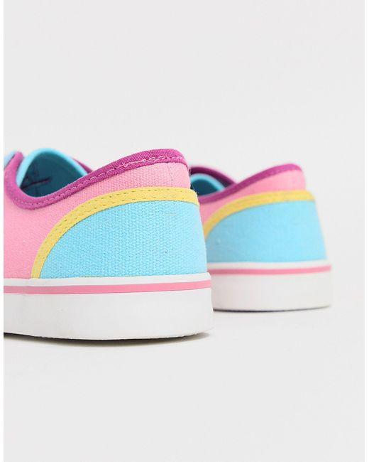 Y-R-U - Baskets basses - colore YRU en coloris Multicolor