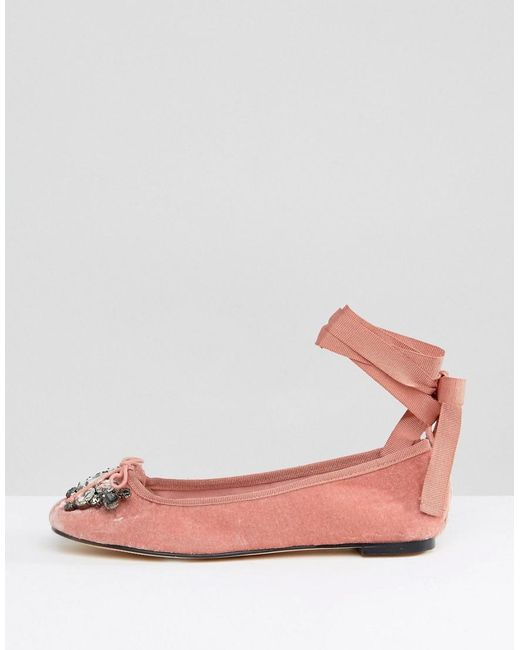 Office Velvet Ballet Shoes kP5d1N