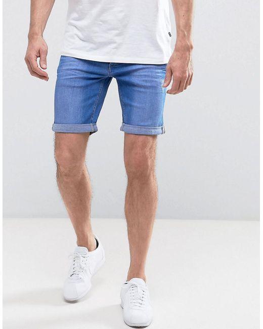 Blend | Bright Blue Denim Shorts for Men | Lyst