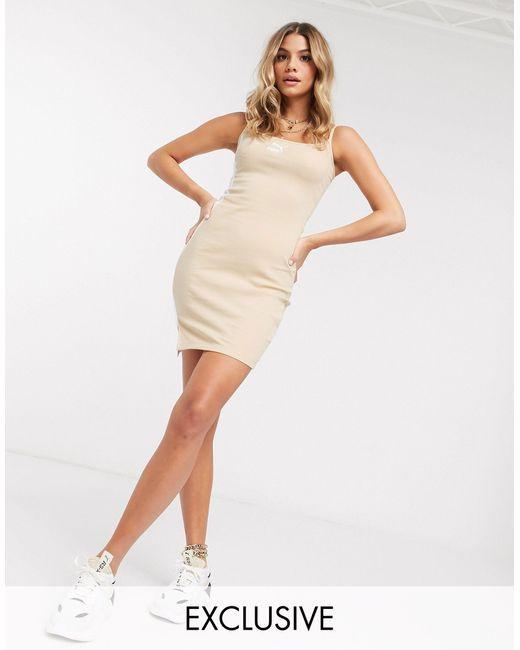 Бежевое Платье Мини В Рубчик Эксклюзивно Для Asos-серый PUMA, цвет: Gray