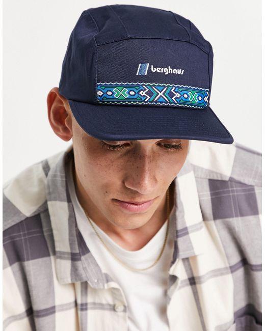 Casquette à motif aztèque - Bleu marine Berghaus pour homme en coloris Multicolor