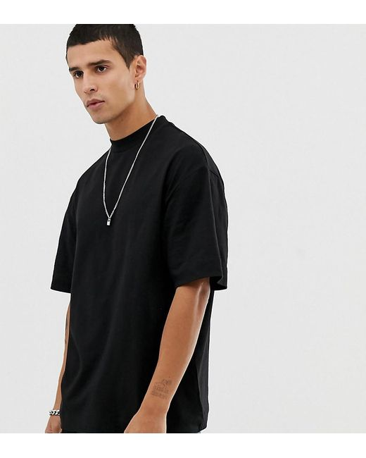 7a085e3b141a Collusion Black T-shirt in Black for Men - Lyst