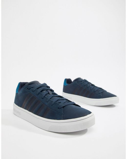K Swiss Court Frasco Sneaker in Navy