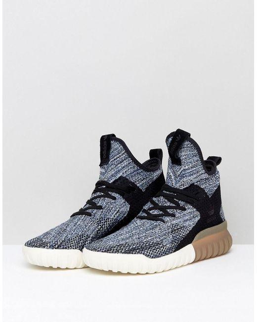 huge selection of 77429 1650c adidas-originals-Black-Tubular-X-Primeknit-Sneakers-In-Black-By3145.jpeg