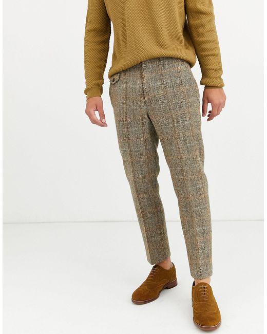 Pantalones capri ASOS de hombre de color Brown