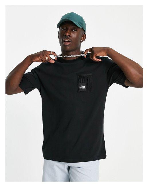 Black Box Cut - T-shirt nera di The North Face da Uomo
