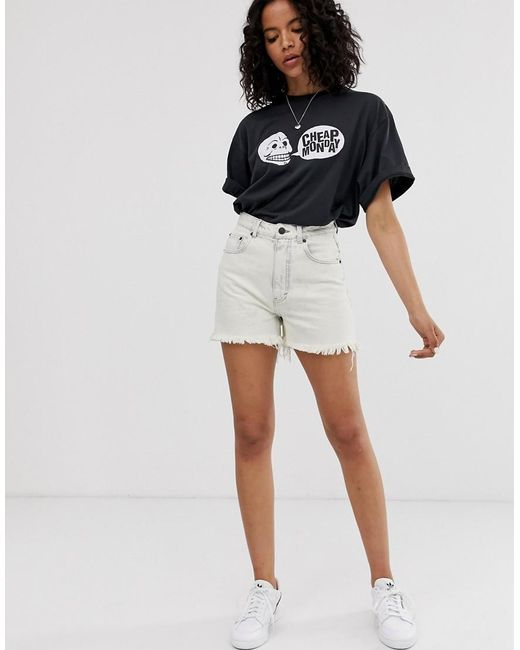 New Look Paperbag Mom Shorts Donna