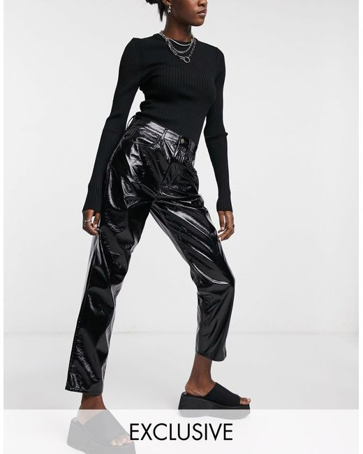 Inspired - The '91 - Mom jeans di Reclaimed (vintage) in Black