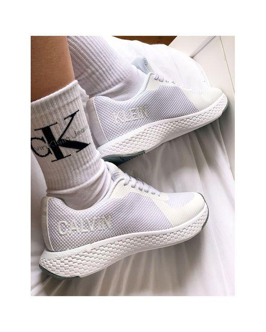 Calvin Klein White Jeans – Alma – Sneaker