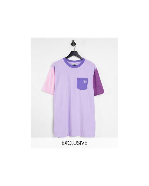 PUMA – Downtown – T-Shirt in Purple für Herren
