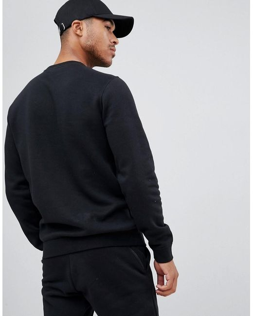 exclusive range new lower prices cheap for discount Club Swoosh Crew Neck Sweat In Black Bv2662-010