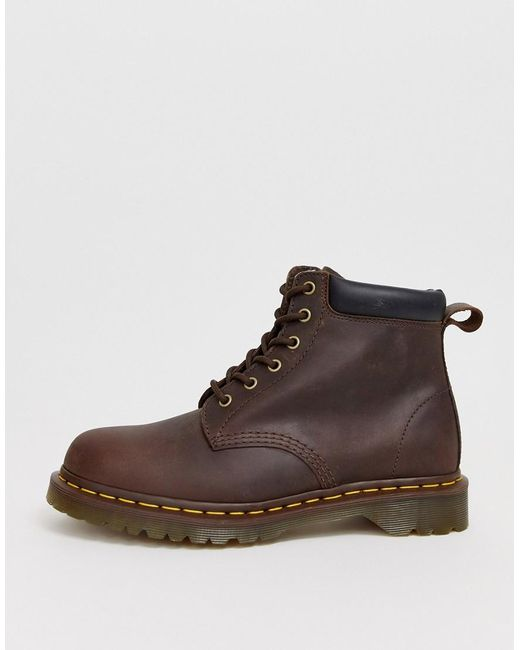 b4bc4e1df9 Men's 939 6 Eye Boots In Brown Leather