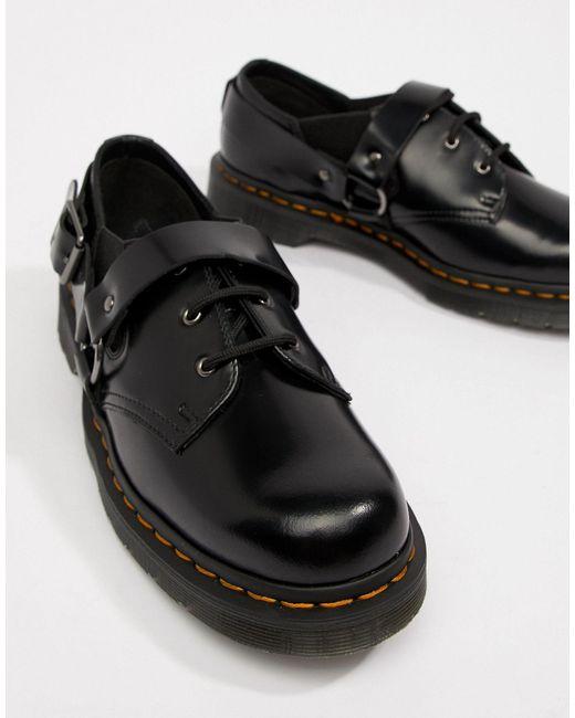 Обувь Fulmar В Цвете Черный Dr. Martens для него, цвет: Black
